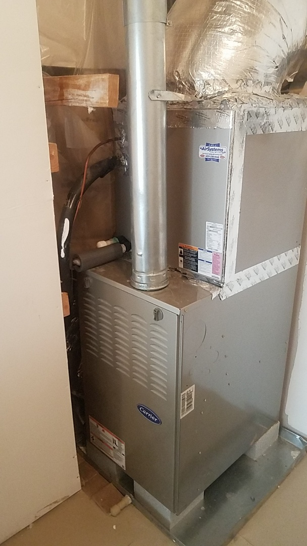 Chattanooga, TN - Service call. Performed Fall maintenance on a Carrier Furnace.