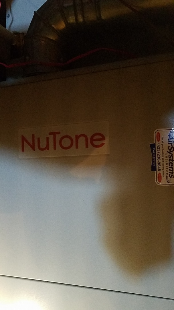 Ooltewah, TN - Service call. Performed repair on Nutone gas furnace