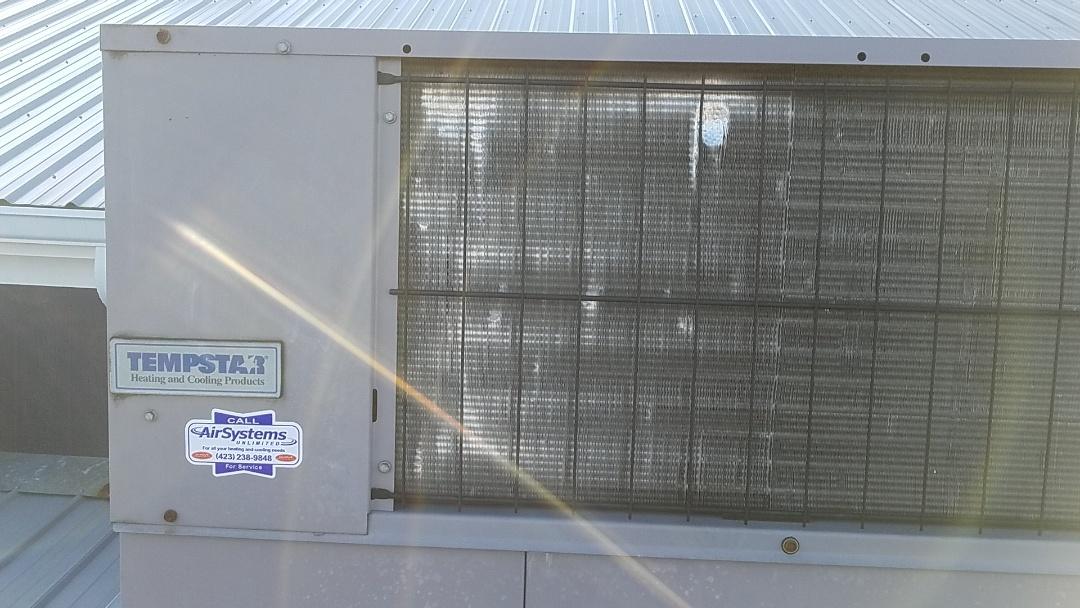 Ooltewah, TN - Service call. Performed repair on Tempstar furnace