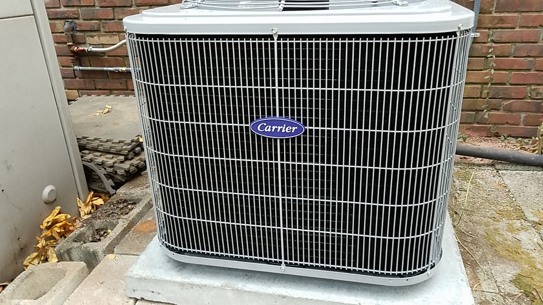 Chattanooga, TN - Installation call. Performed install of Carrier AC and furnace.
