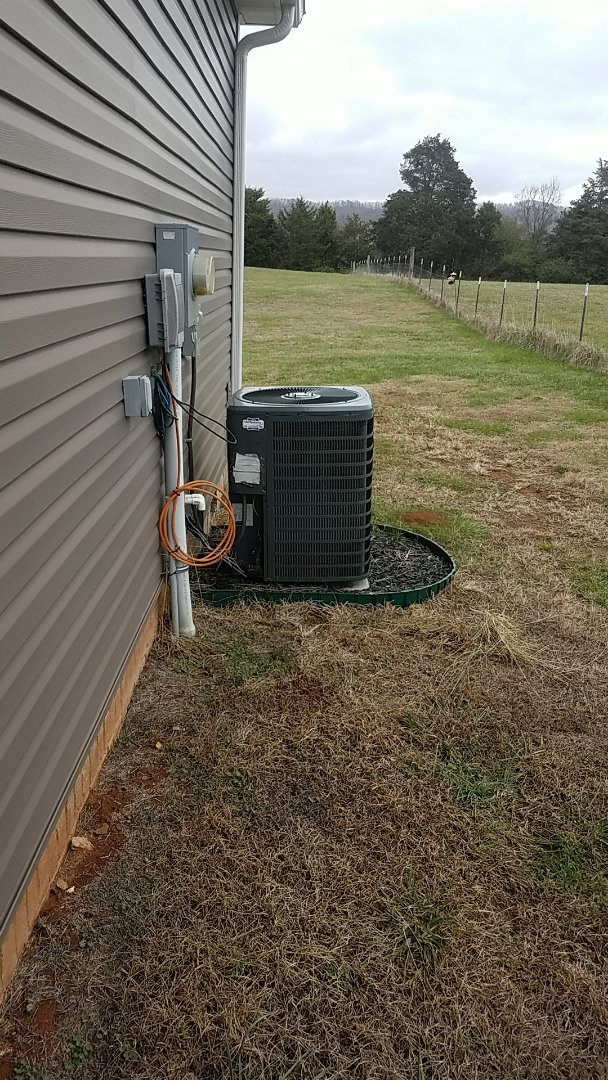Ooltewah, TN - Service call.  Performed Fall maintenance on two Goodman Heat Pump systems.
