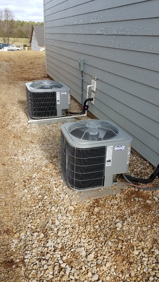 Ooltewah, TN - Installation of Carrier furnace