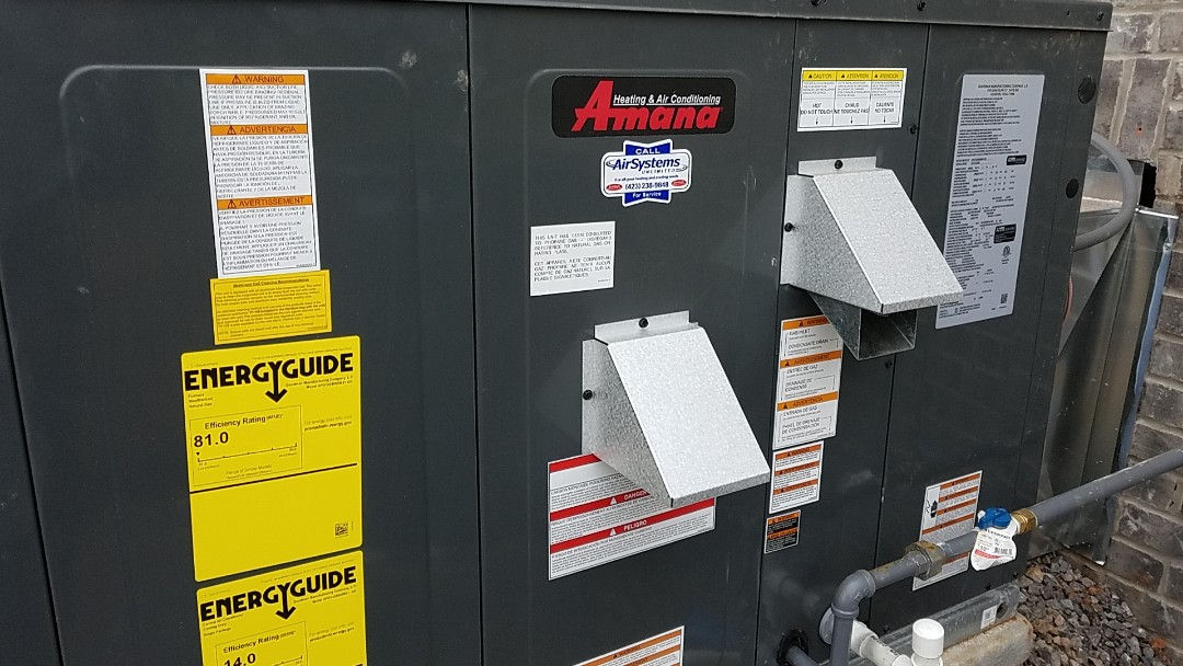 Cleveland, TN - Installation call. Perfromed install of Amana AC
