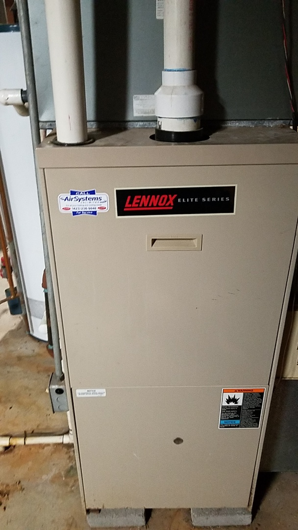 Signal Mountain, TN - Maintenance call. Performed maintenance on Lennox furnace