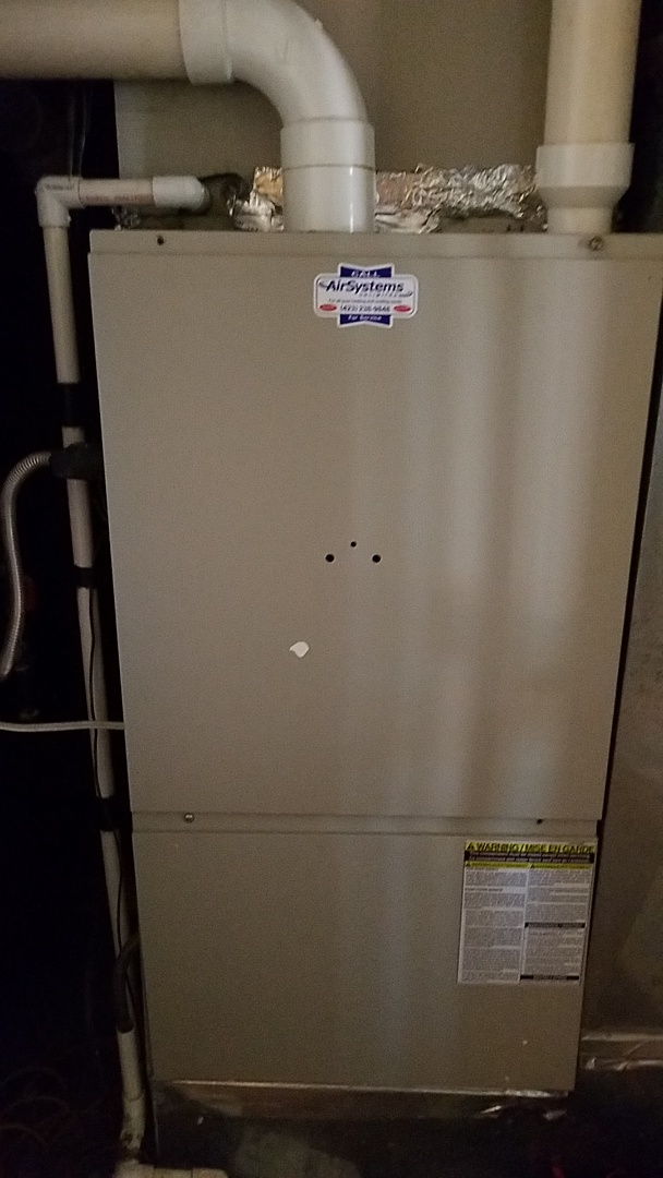 Chattanooga, TN - Service call. Performed repair on Frigidaire furnace