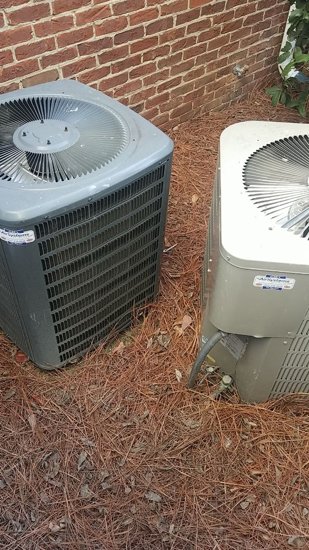Chattanooga, TN - Service call.  Performed Fall maintenance on two systems.