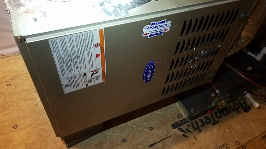 Soddy-Daisy, TN - Service call. Performed repair on Carrier furnace