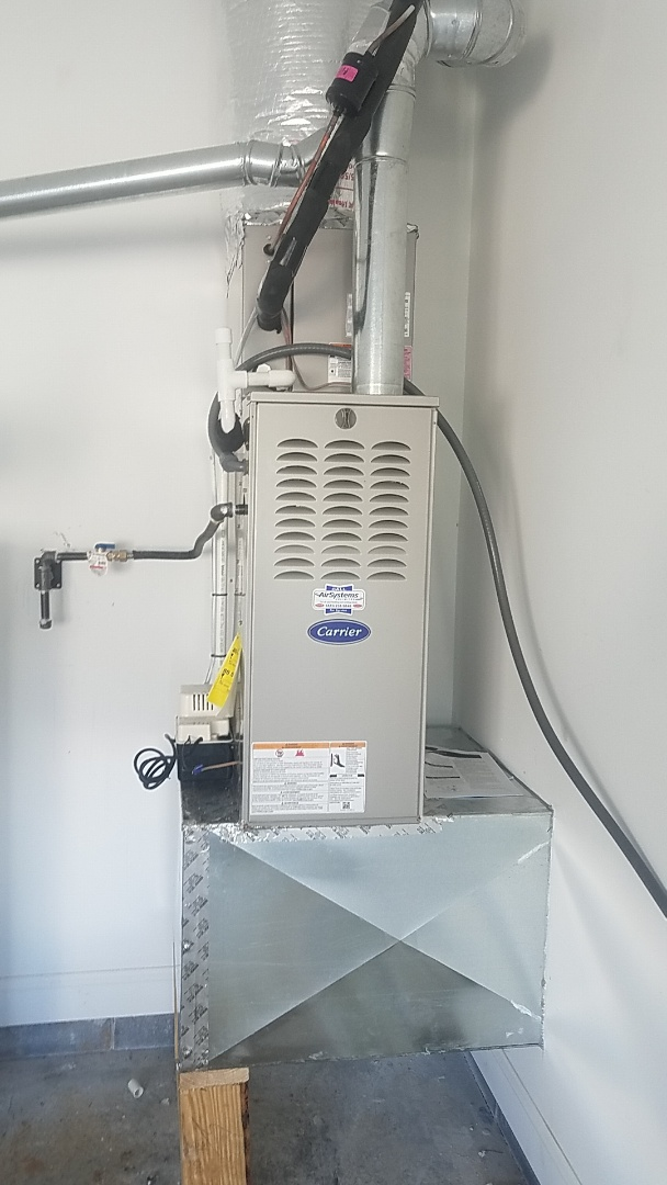 Chattanooga, TN - Installation of a new Carrier Furnace.