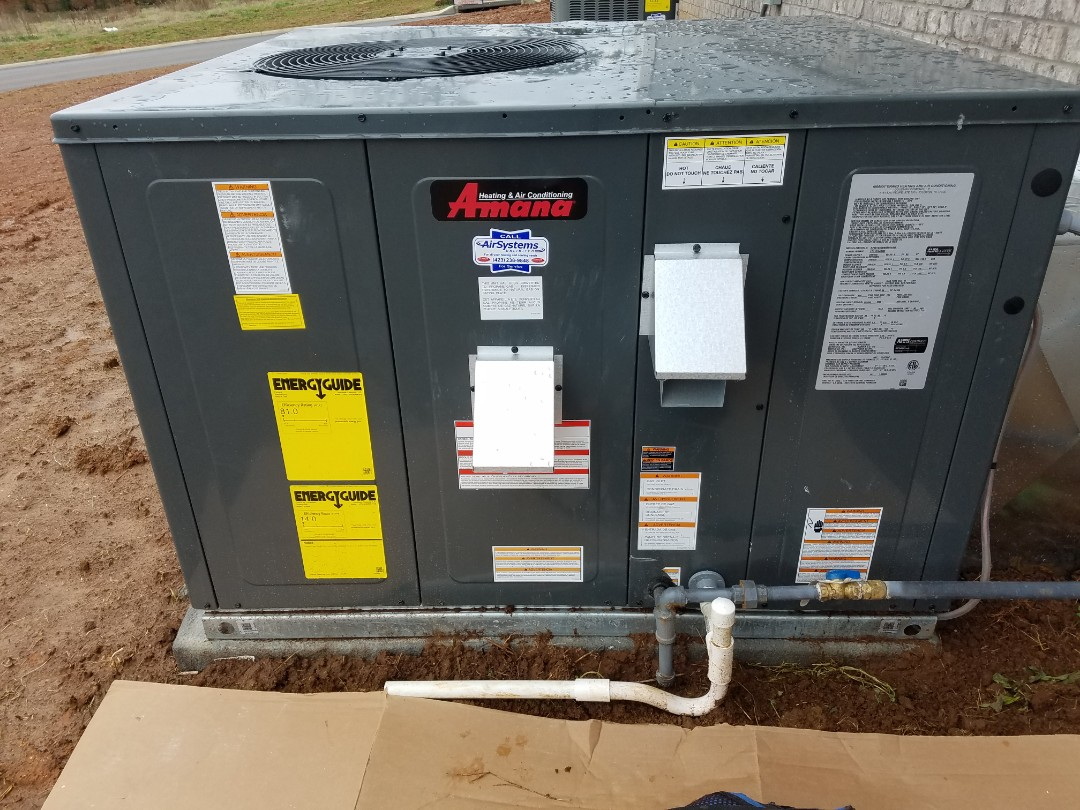 Cleveland, TN - Installation call. Performed install of Amana AC