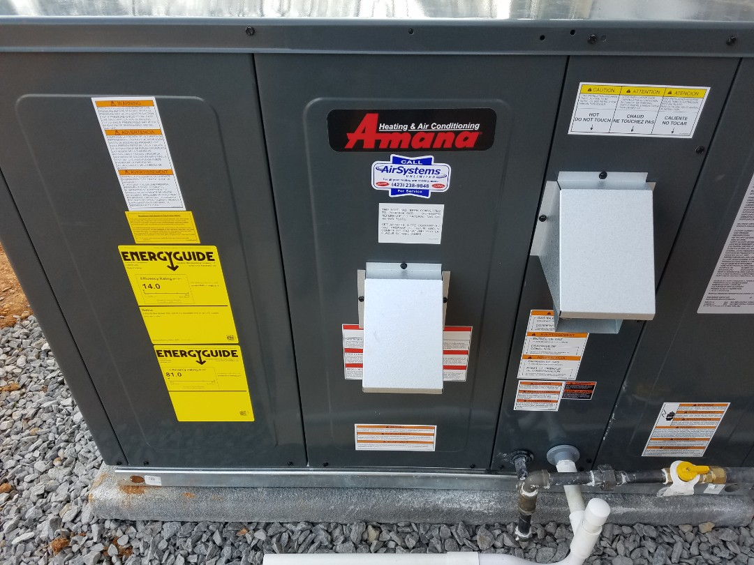 Cleveland, TN - Performed install of Amana AC