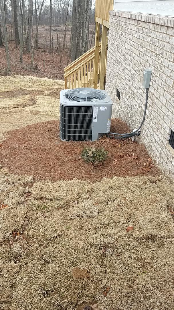 Signal Mountain, TN - Service call.  Performed service on a Carrier Heat Pump system.