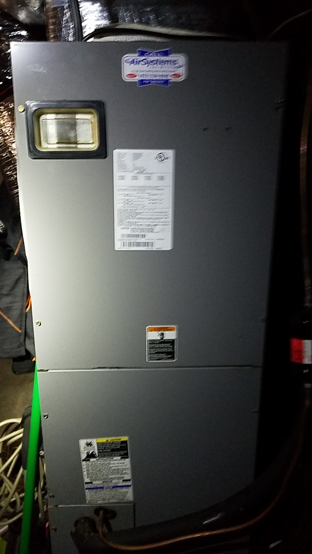 Cleveland, TN - Service call. Performed repair on Carrier heat pump