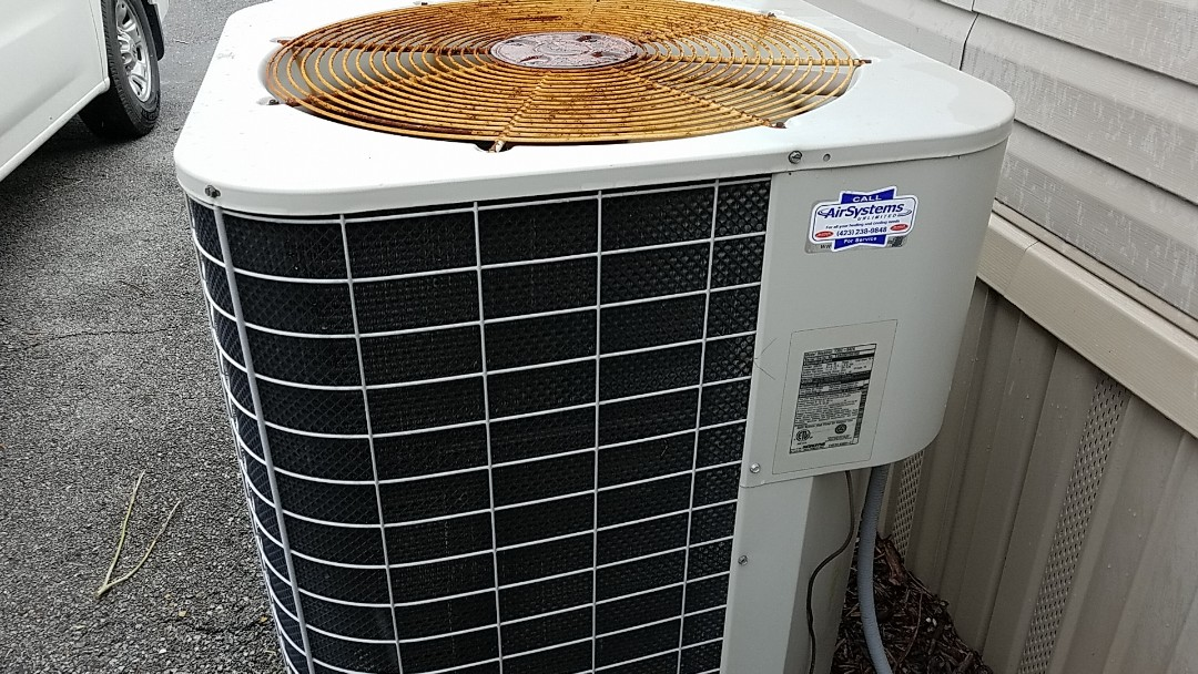 Harrison, TN - Service call. Performed repair on Frigidaire heat pump