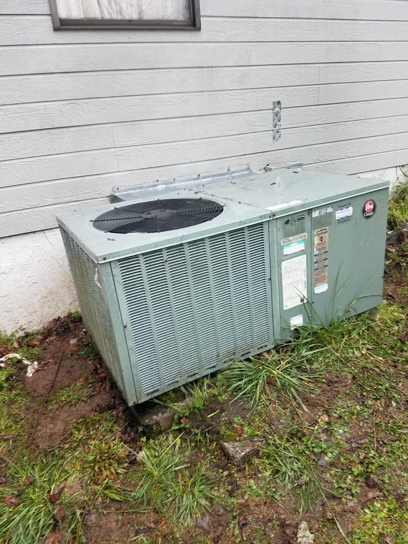 Cleveland, TN - Service call performed repair on Rheem Air heat pump
