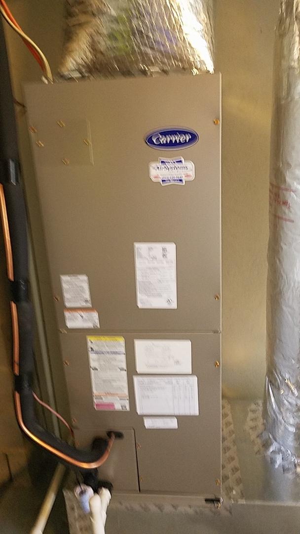 Soddy-Daisy, TN - Installation call. Performed Install of Carrier heat pump