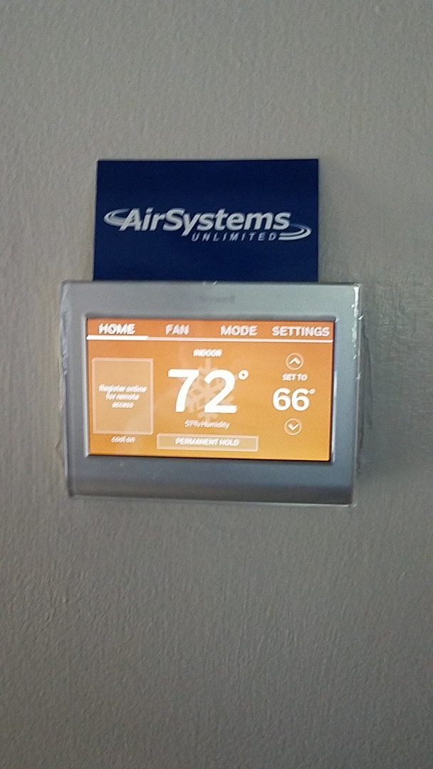 Apison, TN - Service call.  Installed new thermostat.