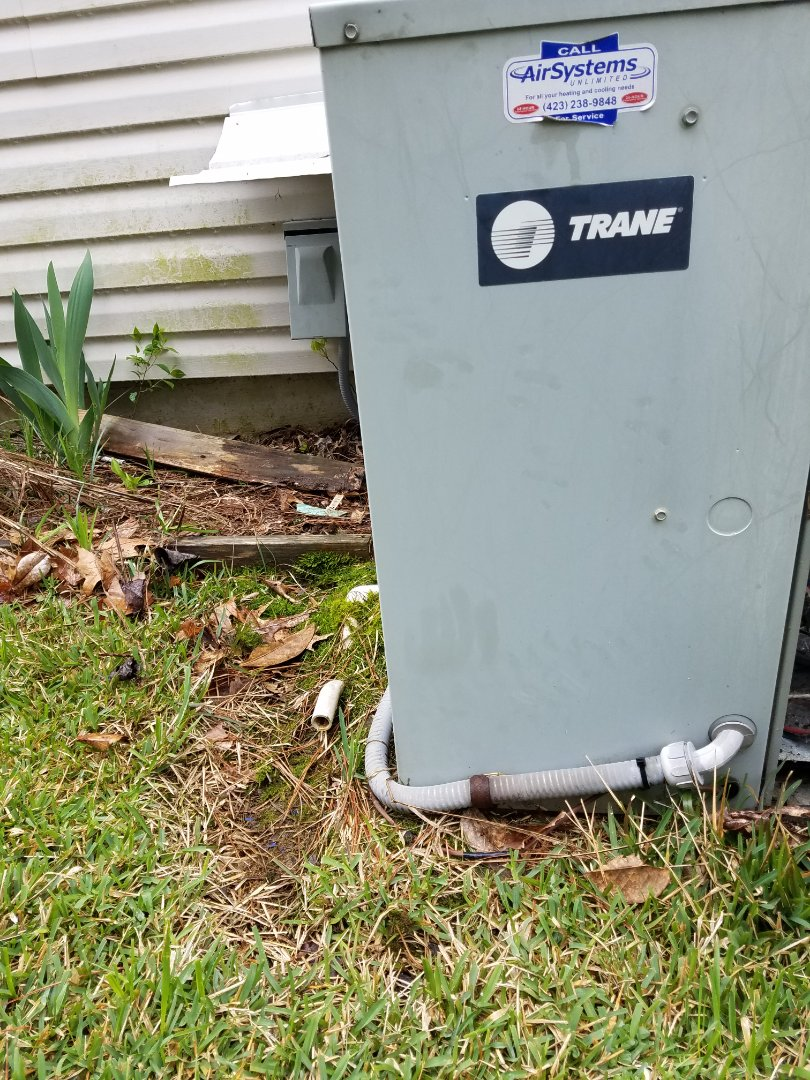 Cleveland, TN - Service call. Performed repair on Trane AC