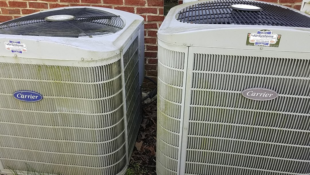 McDonald, TN - Service call. Performed repair on Carrier heat pump