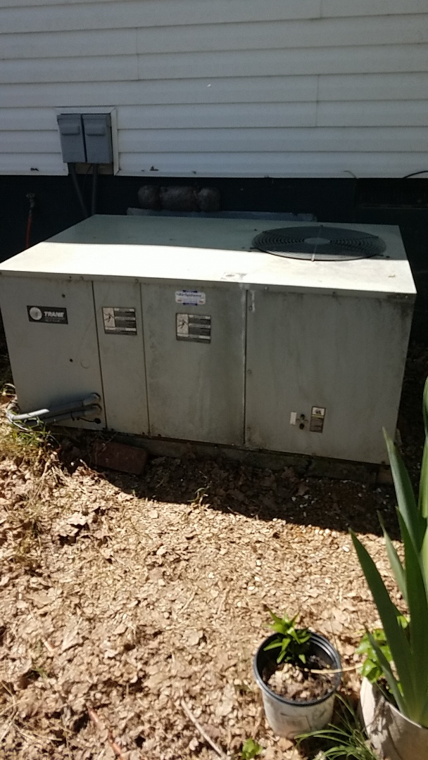 Cleveland, TN - Service call.  Performed repair on a Trane Heat Pump system.