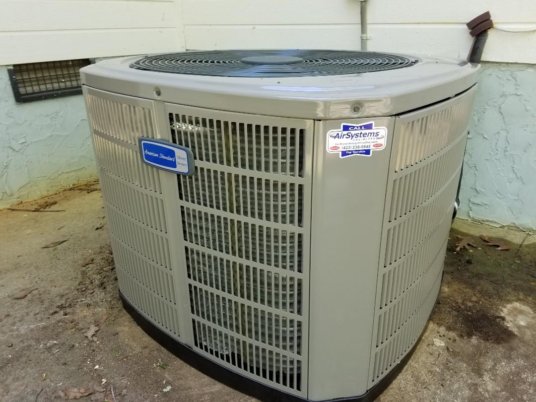 McDonald, TN - Installation call. Performed install of American Standard heat pump