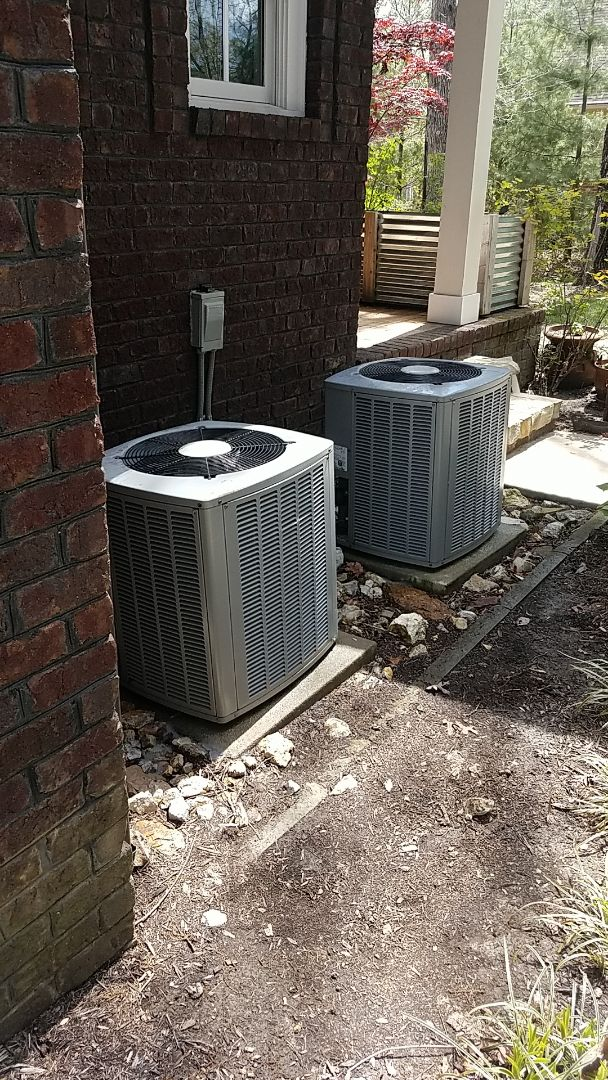 Signal Mountain, TN - Service call.  Performed Spring maintenance on three AC systems.