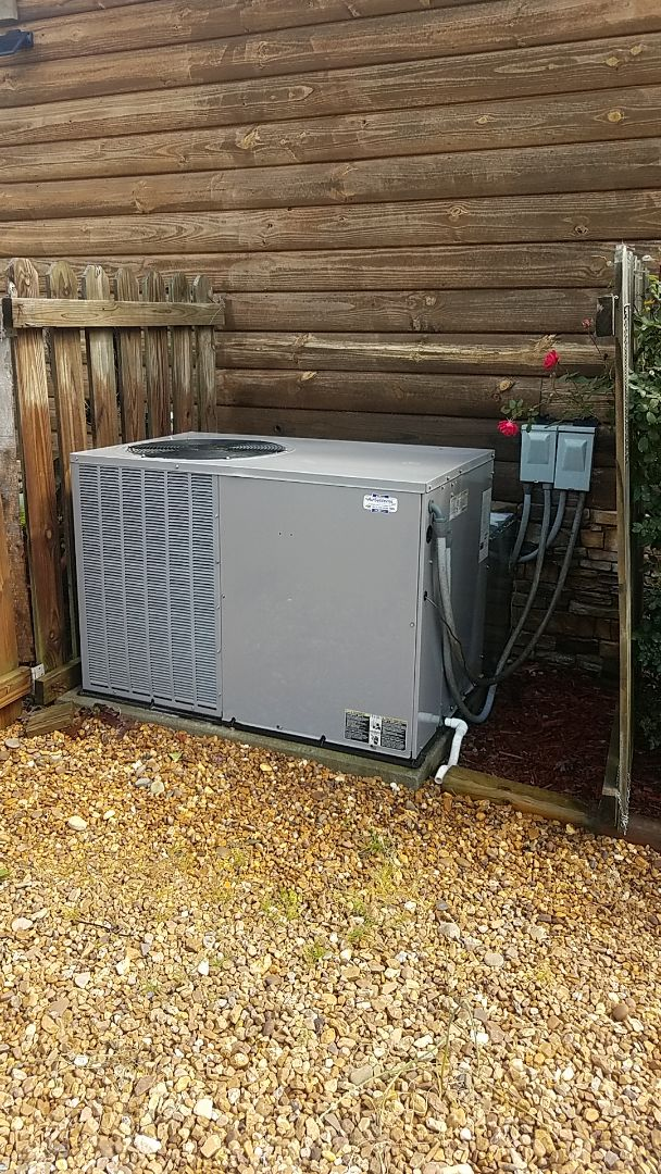McDonald, TN - Seriously call.  Performed Spring maintenance on a Tempstar Heat Pump system.