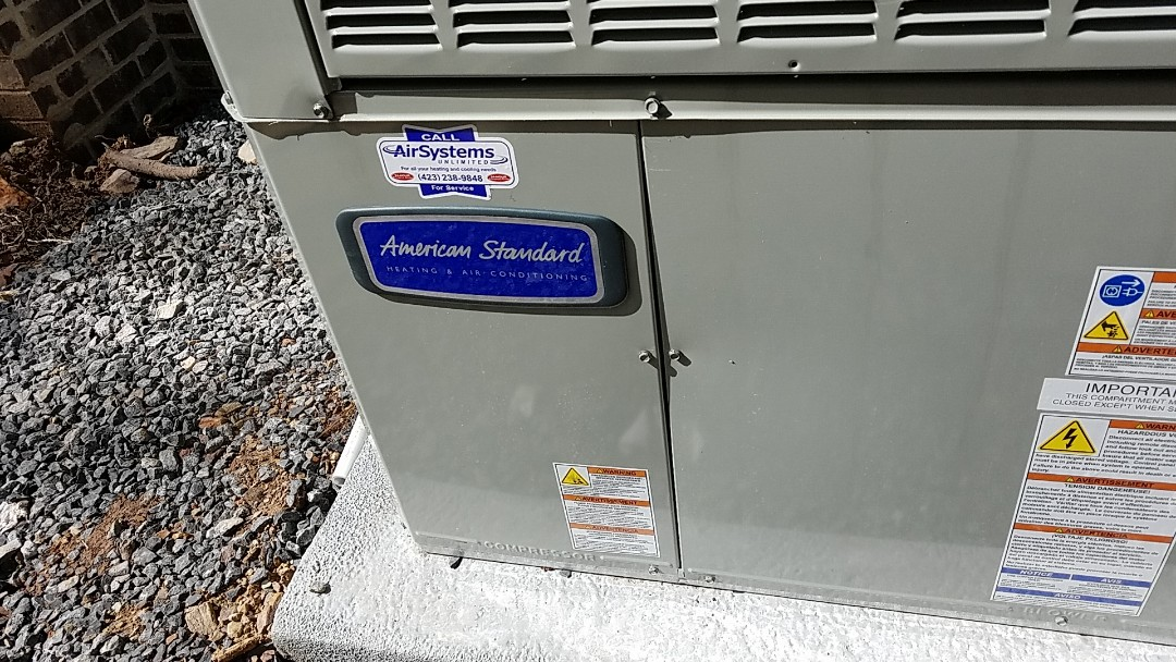 Georgetown, TN - Installation call. Performed install of American Standard heat pump