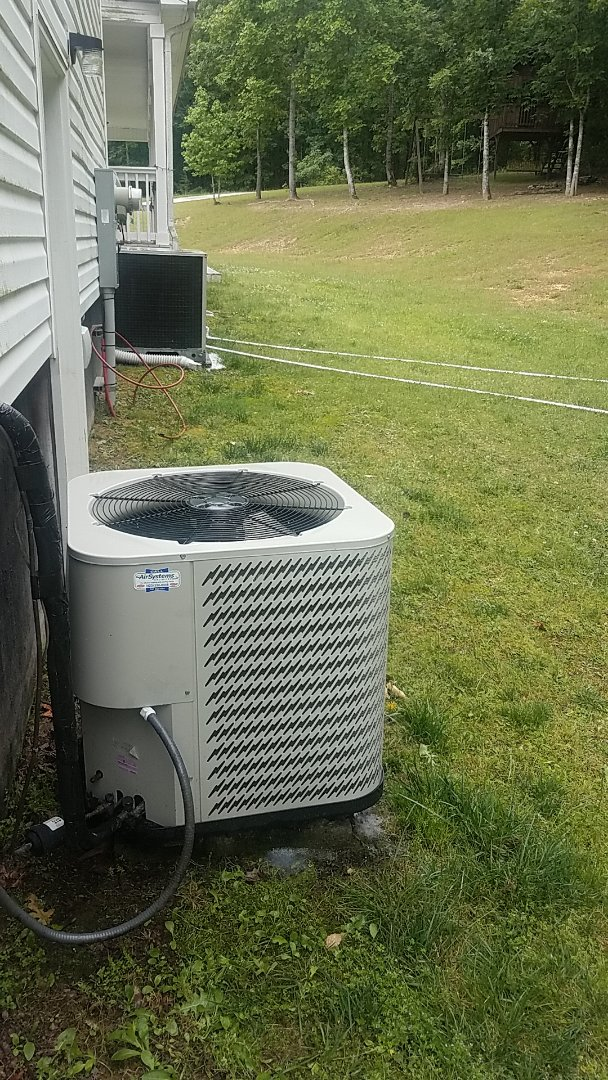 Soddy-Daisy, TN - Service call.  Performed Spring maintenance on three Gibson AC systems.