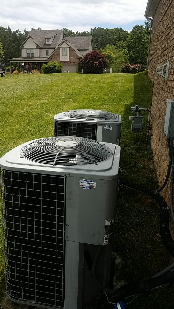 Soddy-Daisy, TN - Service call.  Performed Spring maintenance on two Tempstar AC systems.