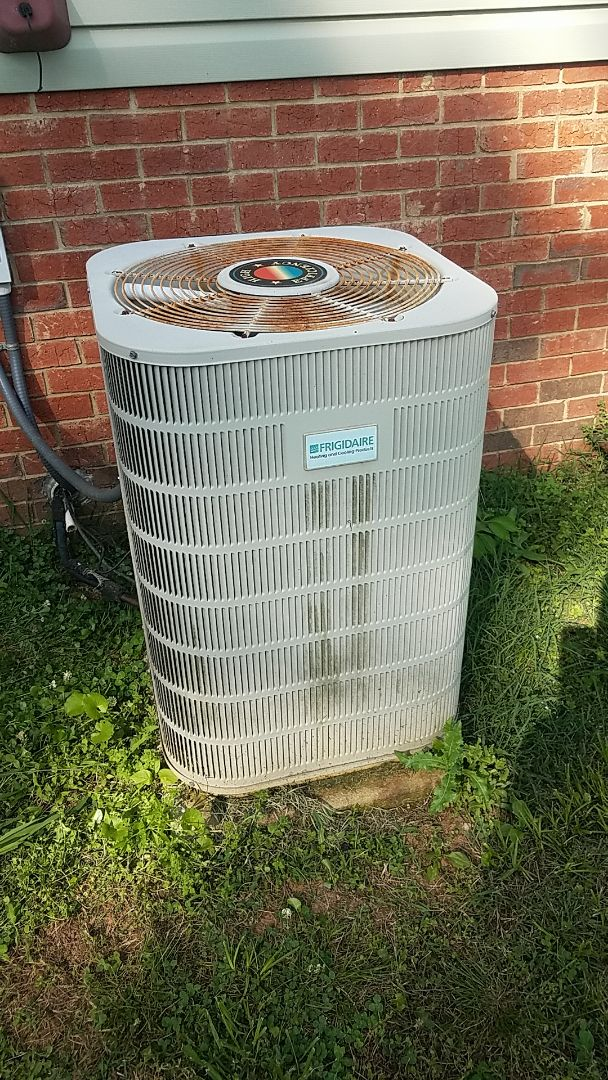 McDonald, TN - Service call performed repair on Frigidaire condenser