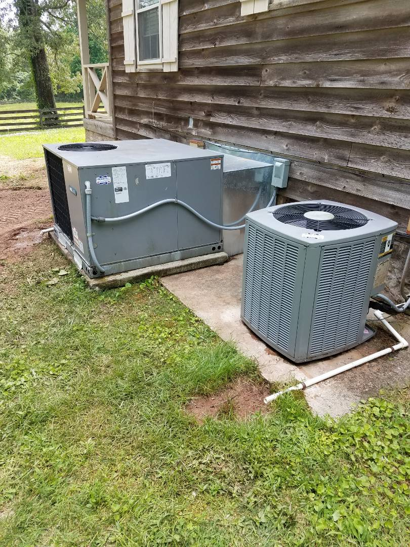 McDonald, TN - Service call performed repair on Airease heat pump