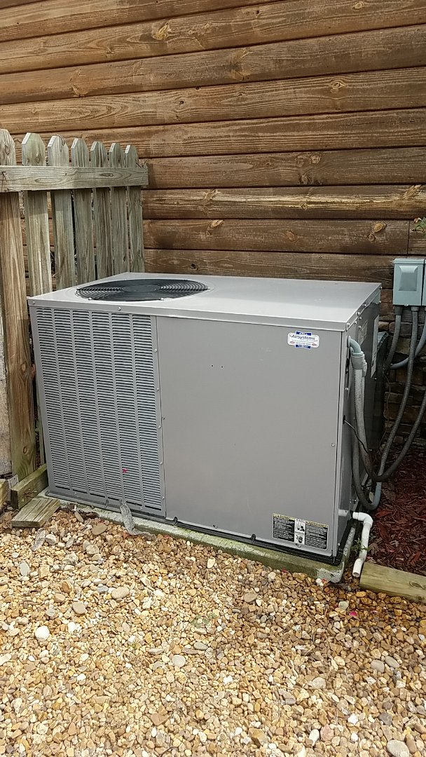 McDonald, TN - Service call.  Performed service on a Tempstar AC system.