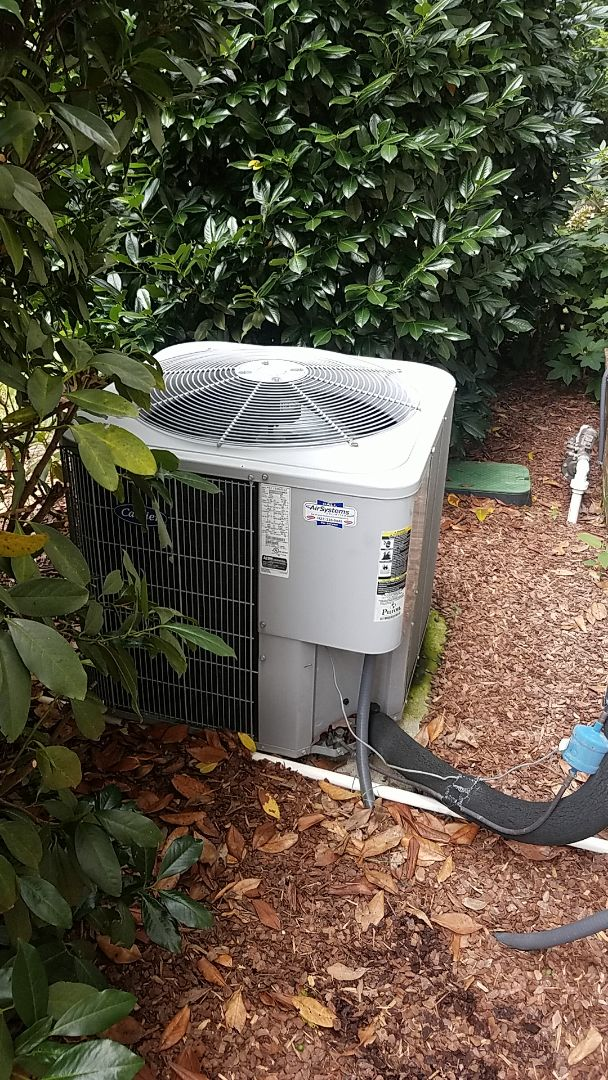 Signal Mountain, TN - Service call.  Performed service on a Carrier AC system.