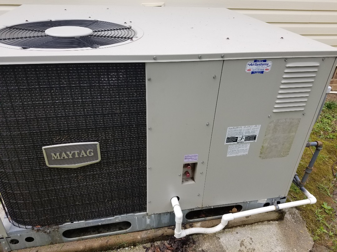 Chattanooga, TN - Service call. Performed repair on Maytag ac
