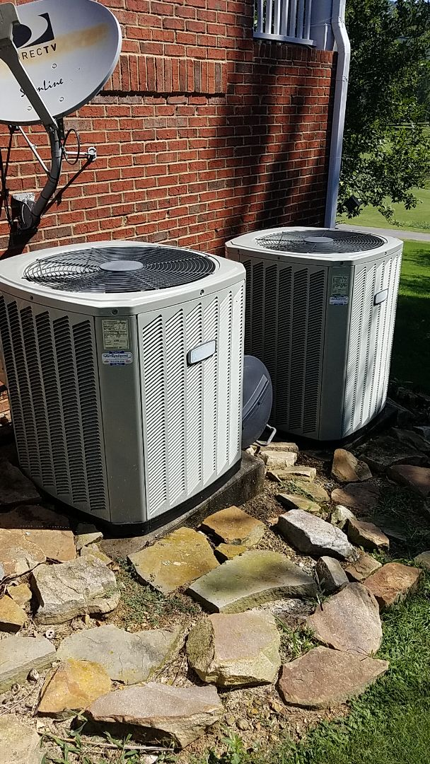 Chattanooga, TN - Maintenance call. Performed maintenance on American Standard Ac