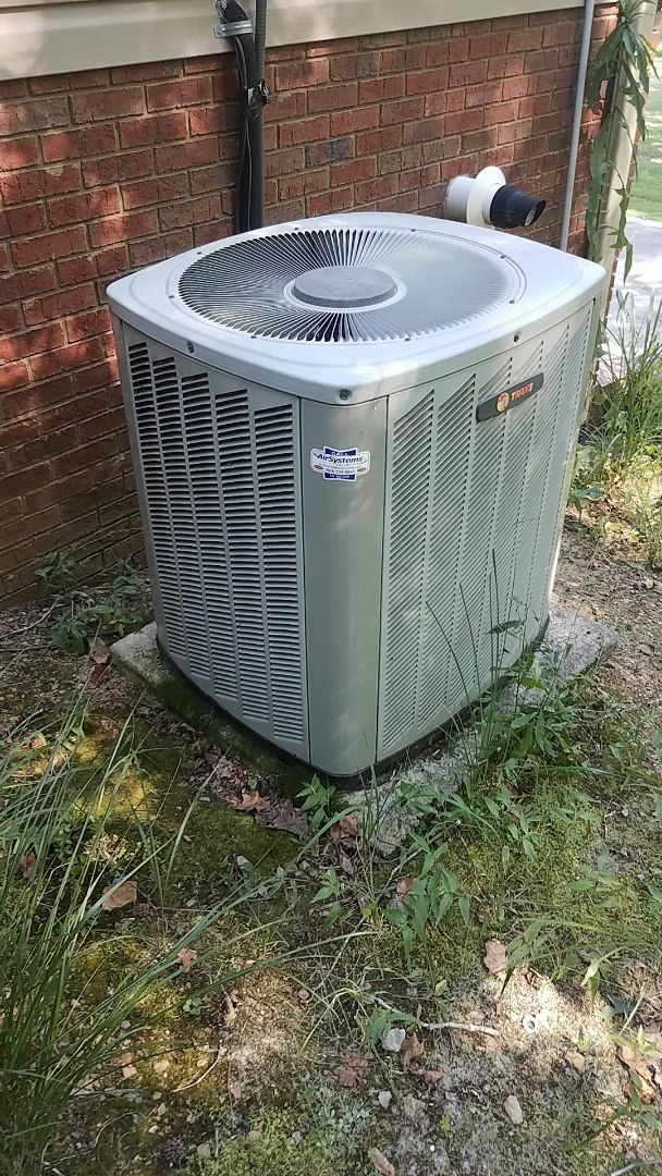 McDonald, TN - Service call.  Performed service on a Trane AC system.