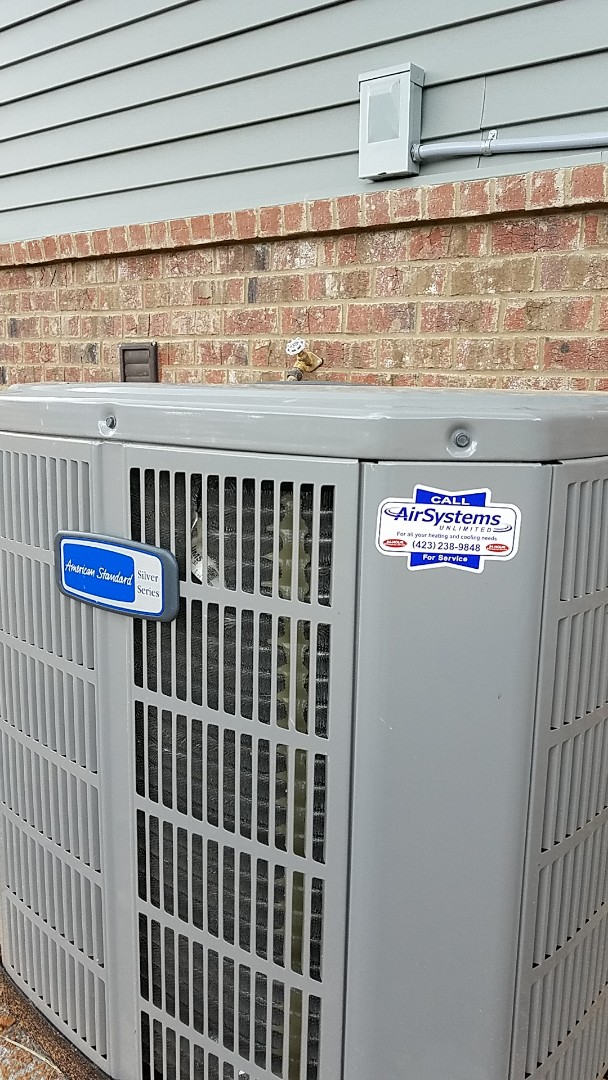Cleveland, TN - Installation call. Performed install of American Standard heat pump