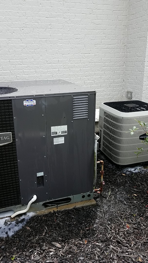 Ooltewah, TN - Service call.  Performed Summer maintenance on two AC systems.