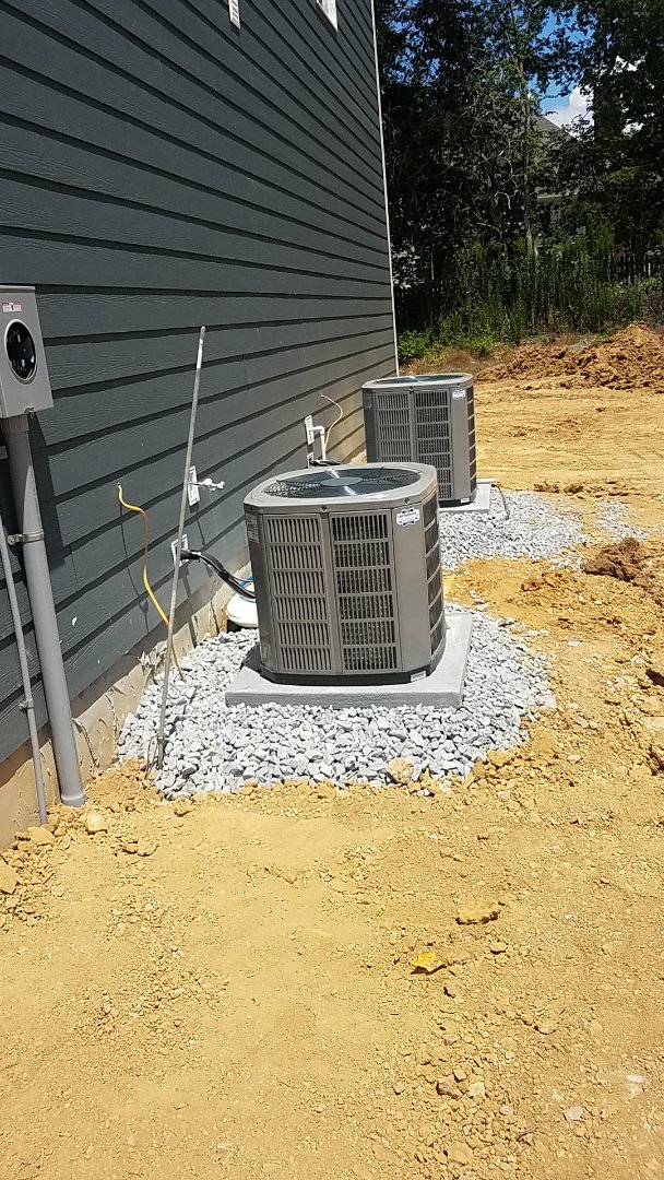 Chattanooga, TN - Installation of a new American Standard AC system.