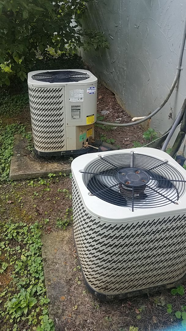 Harrison, TN - Service call.  Performed fall maintenance on two Nordyne systems.