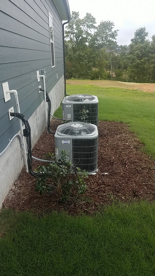 Soddy-Daisy, TN - Service call.  Performed air balance on a Carrier AC system.
