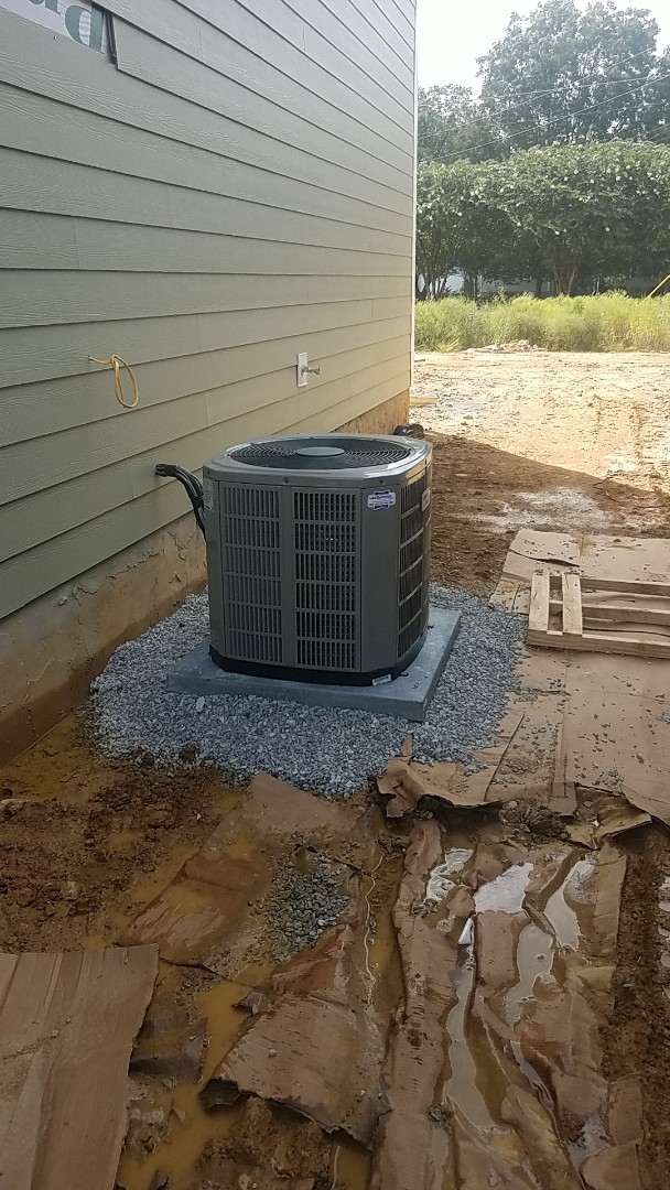 Ooltewah, TN - Installation of a new American Standard AC system.