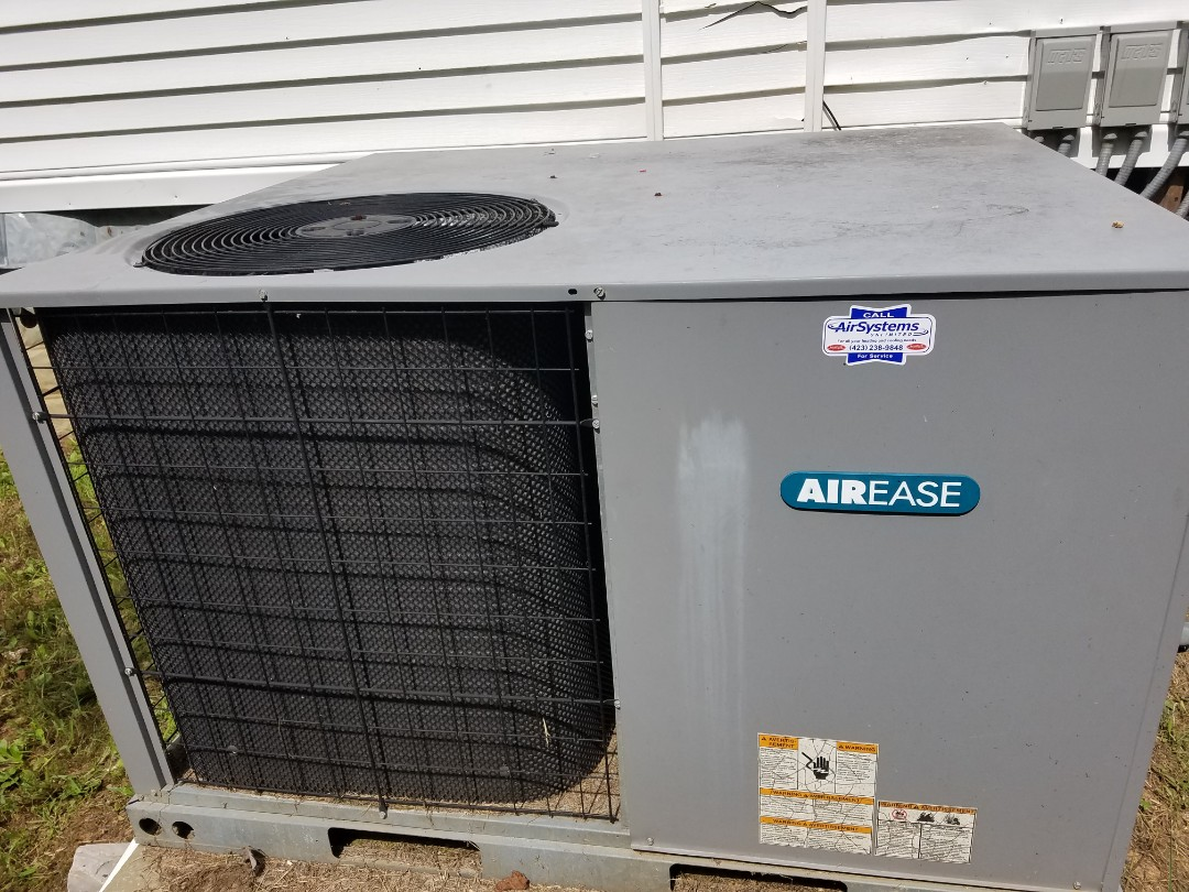 Cleveland, TN - Service call. Performed repair on Airease heat pump