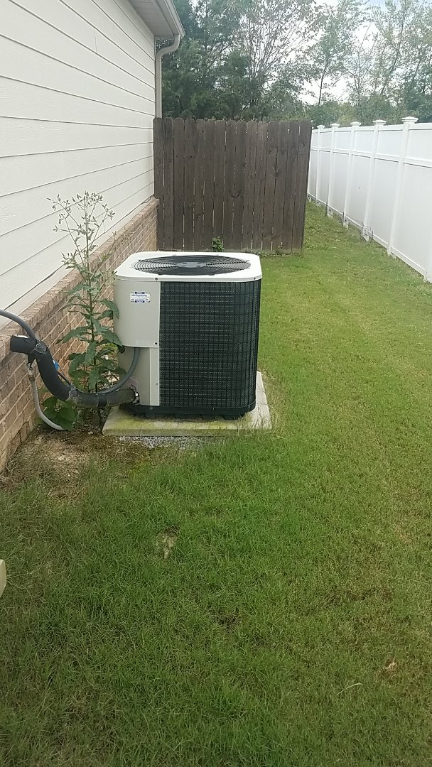 Ooltewah, TN - Service call.  Performed Fall maintenance on a Nutone Furnace.