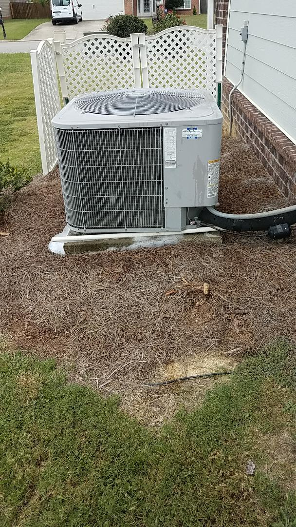 Chattanooga, TN - Service call.  Performed Fall maintenance on a Carrier system.