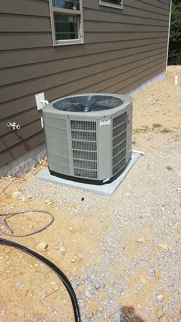 Soddy-Daisy, TN - Installation of a new American Standard AC system.