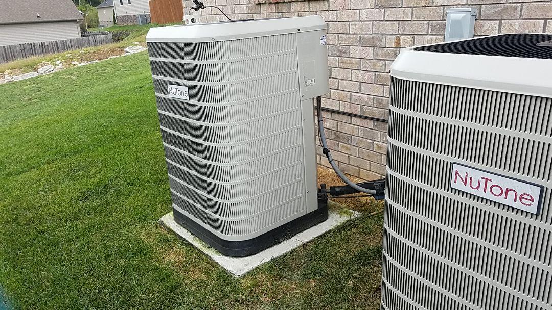 Ooltewah, TN - Service call. Performed repair on Nutone heat pump