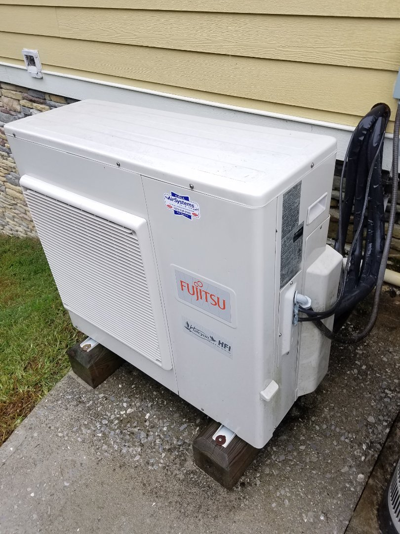 McDonald, TN - Service call. Performed repair on Fujitsu ductless heat pump