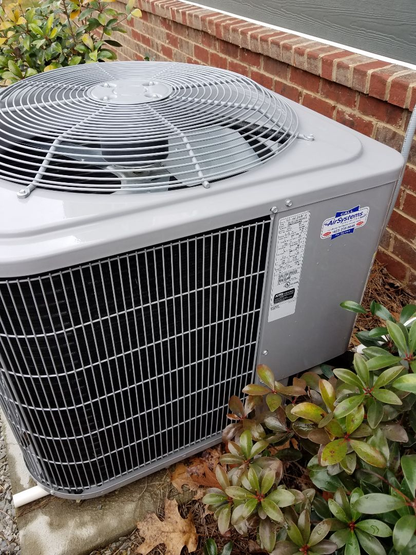 Collegedale, TN - Service call. Performed repair on Carrier heat pump
