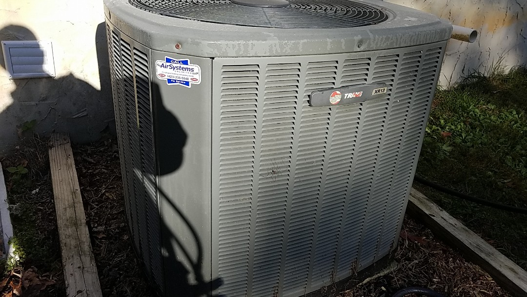 Cleveland, TN - Service call. Performed repair on Trane heat pump